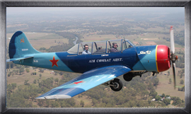 warbird aerobatic flights
