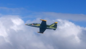 Jet Fighter Rides Sydney